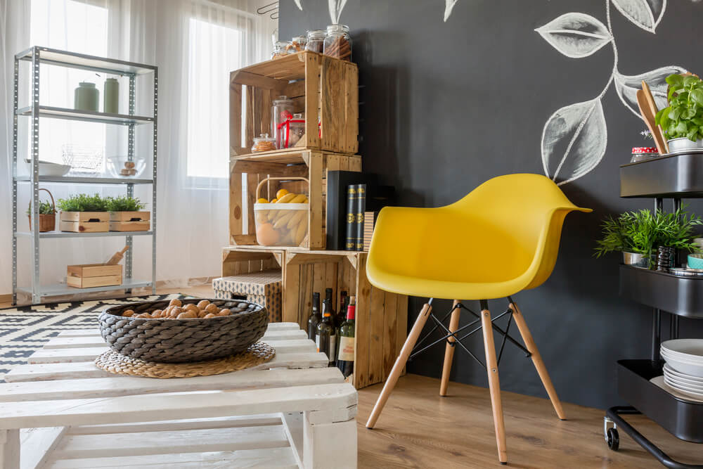 5 ideias criativas de decoração com paletes para sala