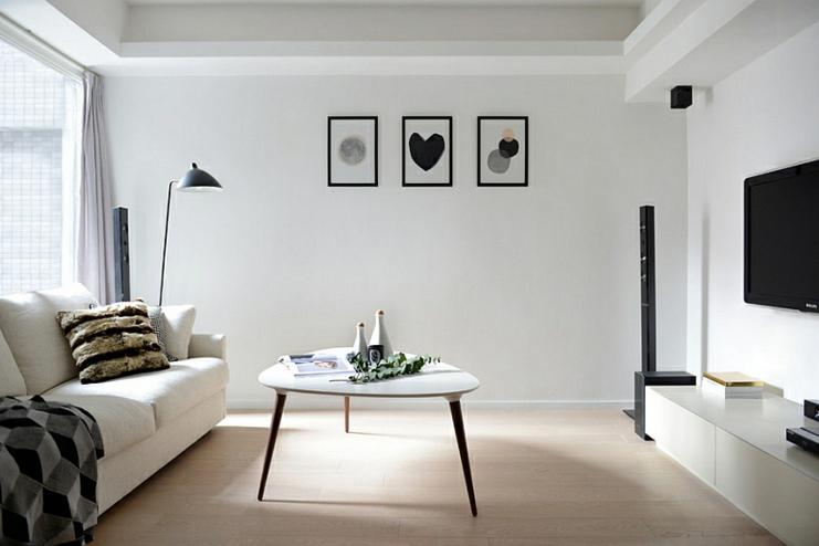estilos de decoração minimalista