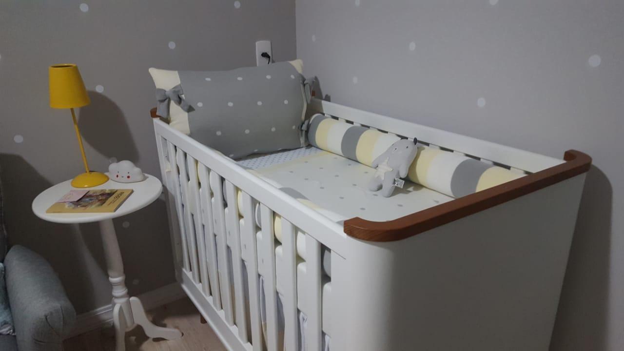 berço do quarto do bebe